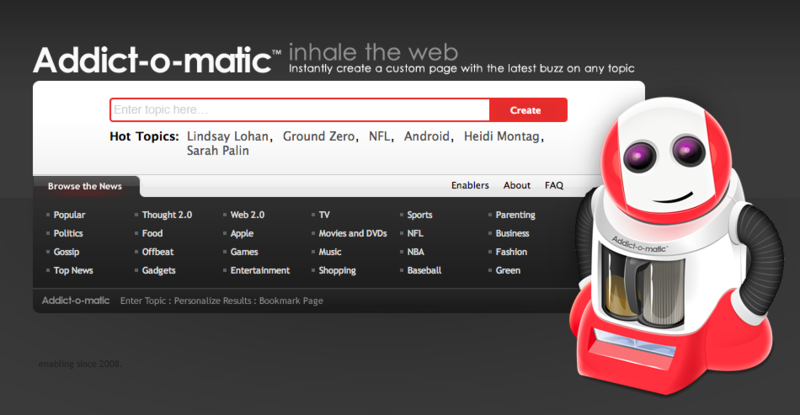 Social media monitoring for free 5 tools to get you started Addict-o-matic
