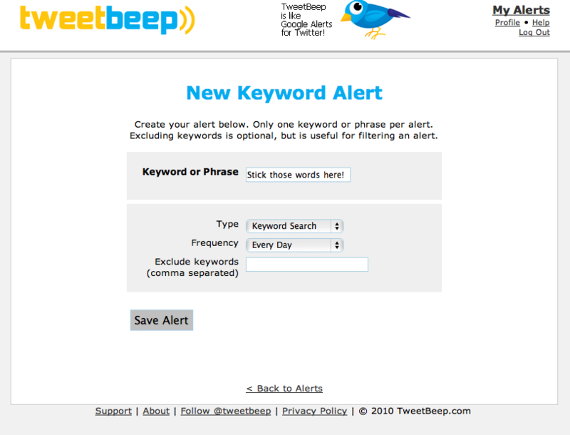 Social media monitoring for free 5 tools to get you started Tweet Beep