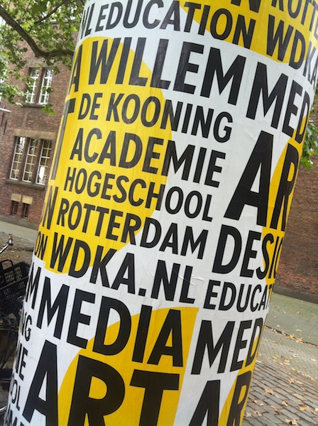 Willem de Kooning Academy | Marketing and Publicity 2.0 for Architects
